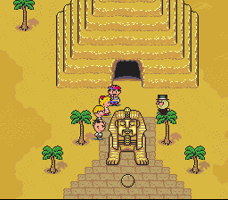 Earthbound - what are you doin in that tree! - User Screenshot